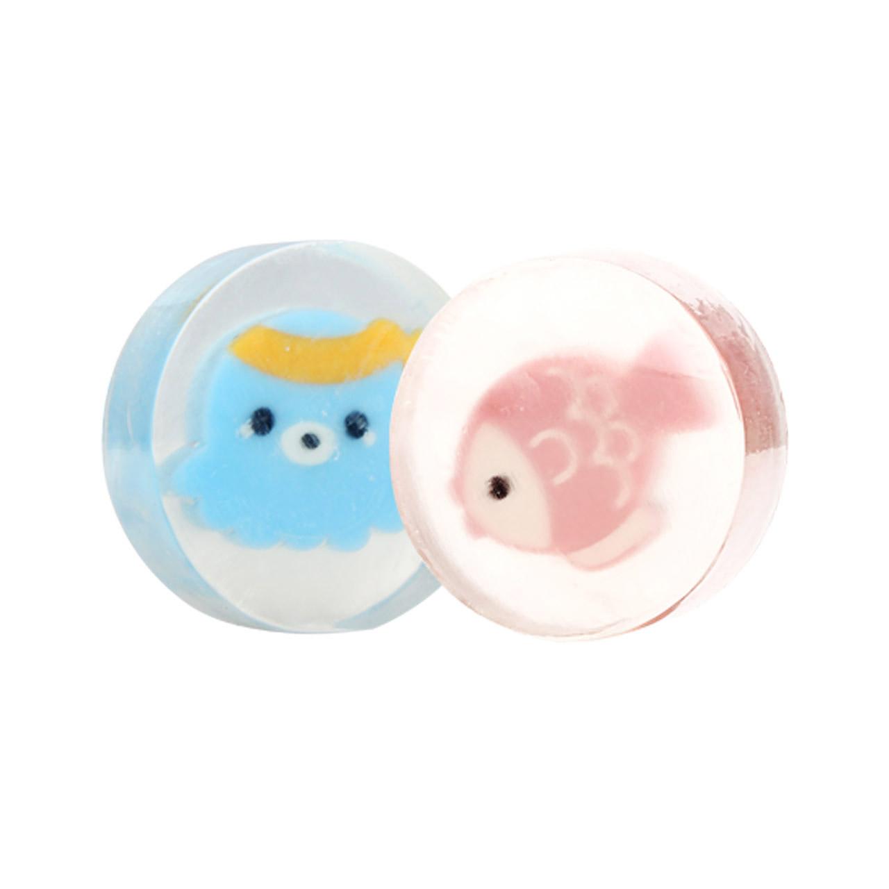 好孩子嬰兒金盞花透明皂香皂寶寶洗發沐浴皂洗手洗臉香皂 裝 eta