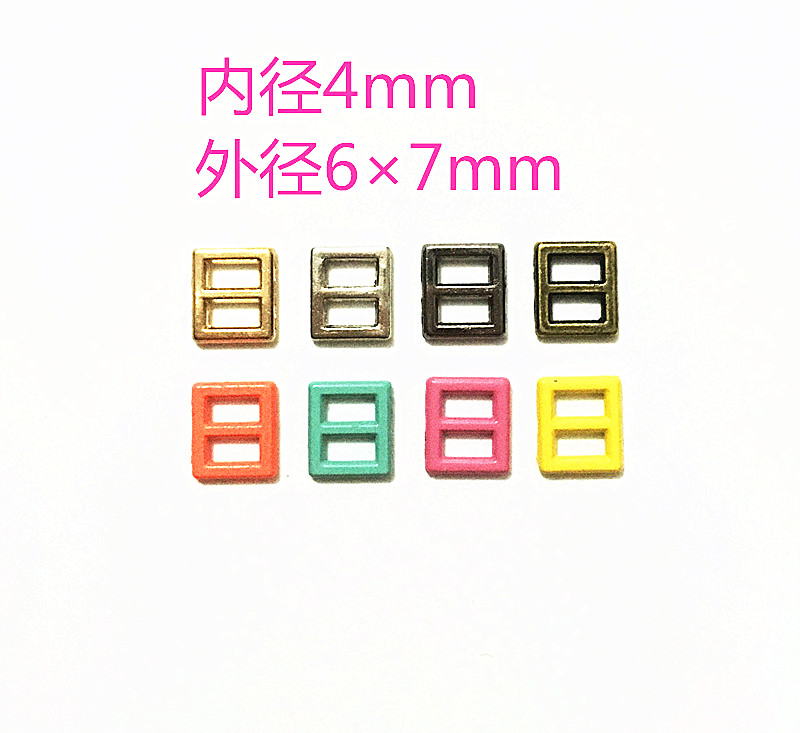 4mm Mini Japanese button BJD small cloth ob baby clothes belt buckle baby shoes buckle super small