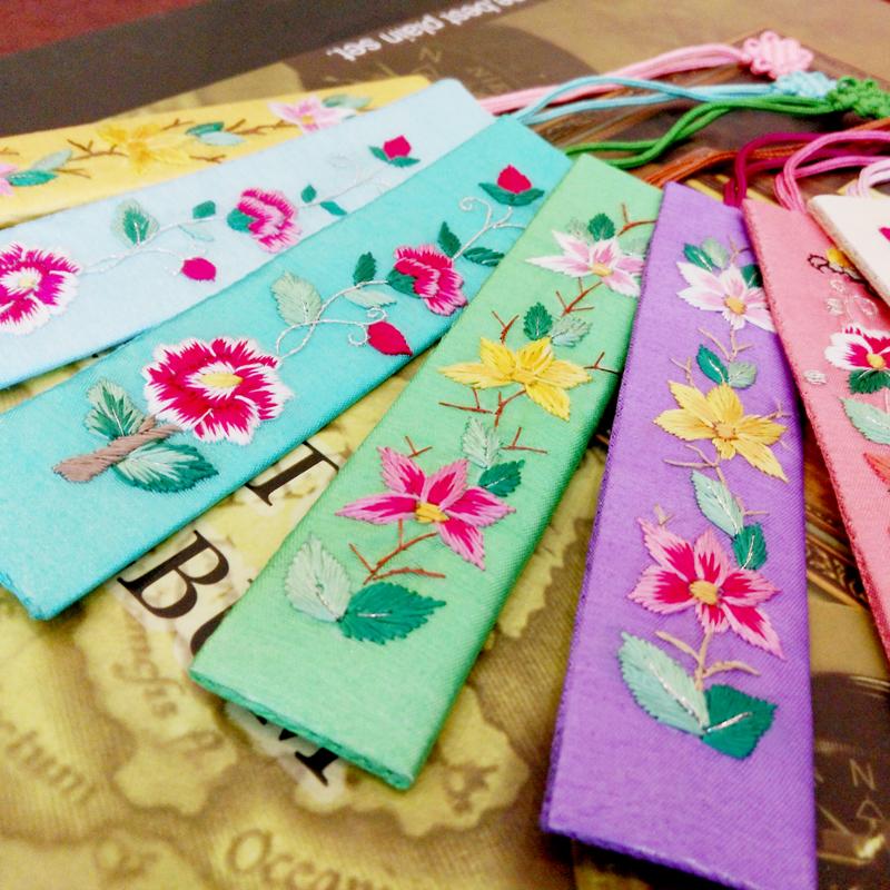 Бамбук озеро река сянцзян вышивать вышивка закладки вышитый китай народ классическая ветер конечный продукт закладки народ литература и искусство следовать рука подарок