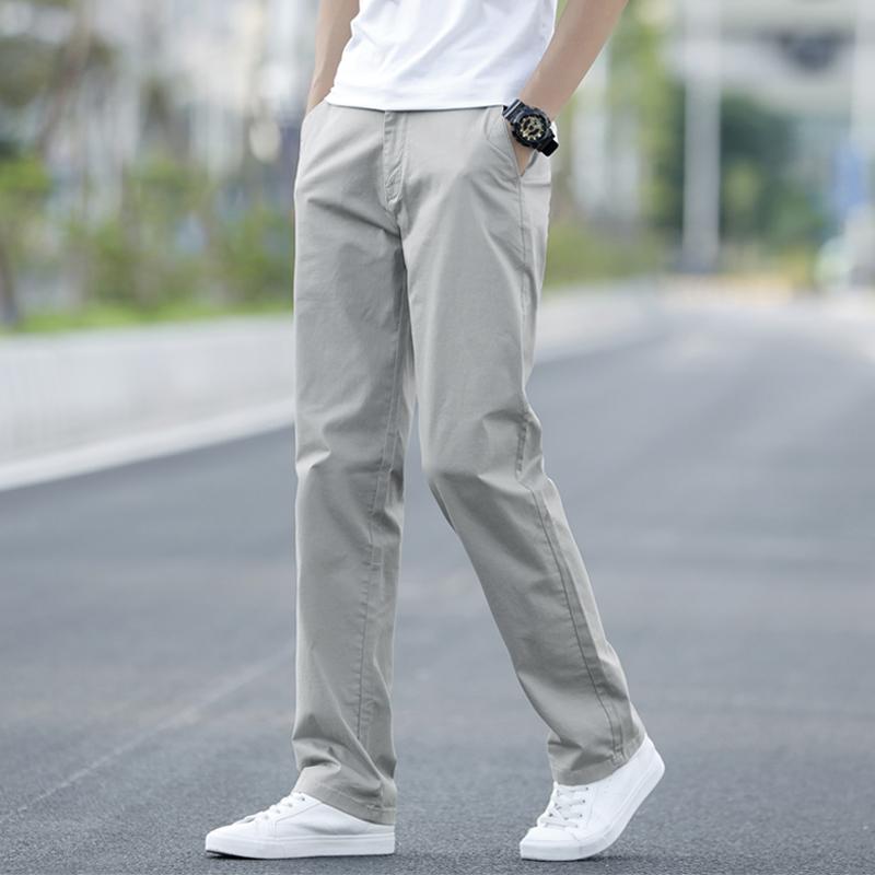 热销0件买三送一男士夏季宽松直筒休闲男装2019长裤