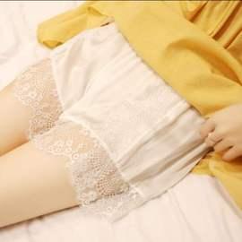 大码女装胖妹妹mm2020春装减龄透气宽松安全短裤子遮肉显瘦图片