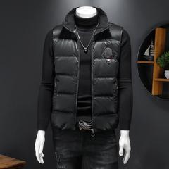 2021冬季羽绒马甲国标90%白鸭绒立领羽绒马甲外套  316-6611-P220