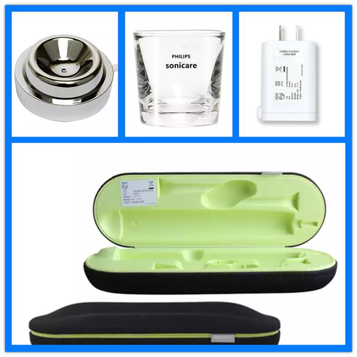 飞利浦电动牙刷充电器HX9100玻璃杯HX9210充电旅行盒充电头数据线47.00元包邮