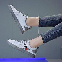 潮网红智熏鞋厚底运动增高波浪鞋ins春季新款2020达芙妮老爹鞋女