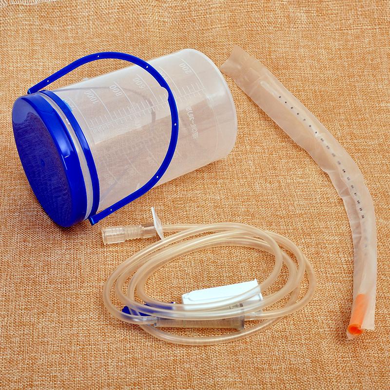 华越家用灌肠桶式灌肠袋排便清肠器葛森咖啡肠道洗肠瓶排毒水疗仪
