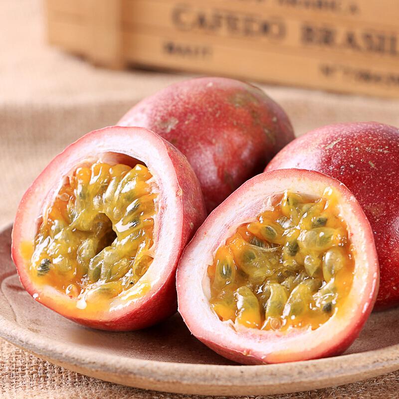 热销2件五折促销淳果一木 泰国进口百香果 新鲜应季水果 5斤装大果 约25-30个