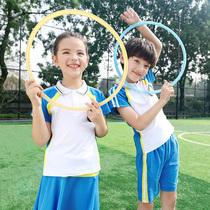儿童校服套装男女童运动会2020新款中小小学生班服夏装幼儿园园服