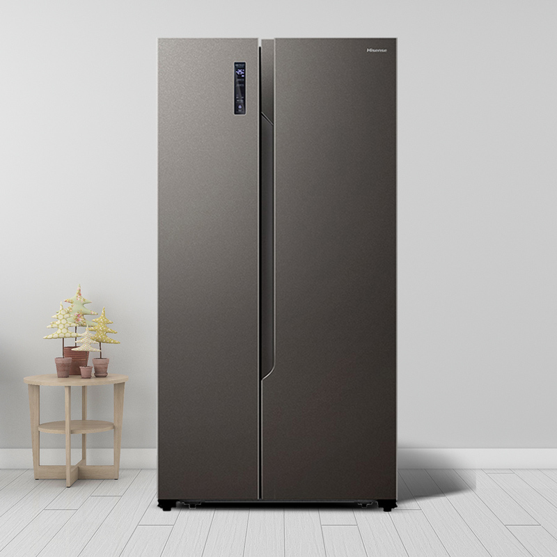 Hisense / Hisense bcd-650wfk1dpuq double door refrigerator primary energy-saving frequency conversion air-cooled frost free