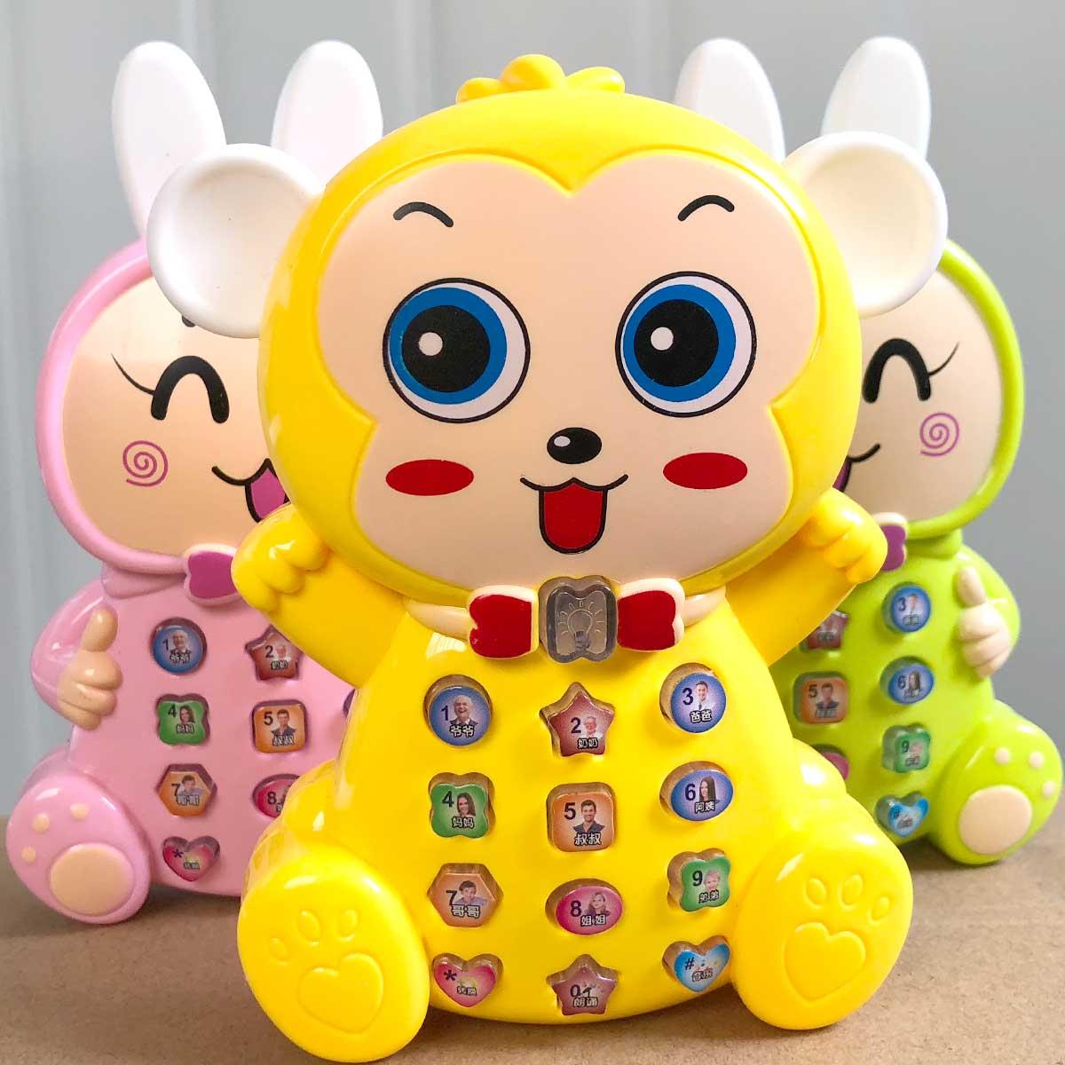 Máy giáo dục sớm cho bé 0-3 tuổi Câu đố con thỏ câu chuyện máy đồ chơi bé thỏ chơi nhạc - Đồ chơi giáo dục sớm / robot