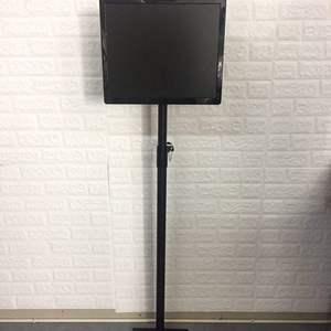 支架电视机液晶视力检测投影仪落地视力表立杆支架落地升降支架