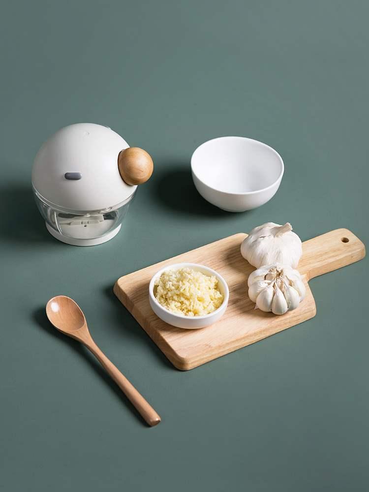 绞肉机厨房饺子馅佳橙多功能手拉手动料理家用搅拌蒜蓉蒜泥神器菜