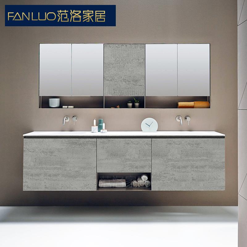 范洛现代简约组合洗漱台定制浴室柜