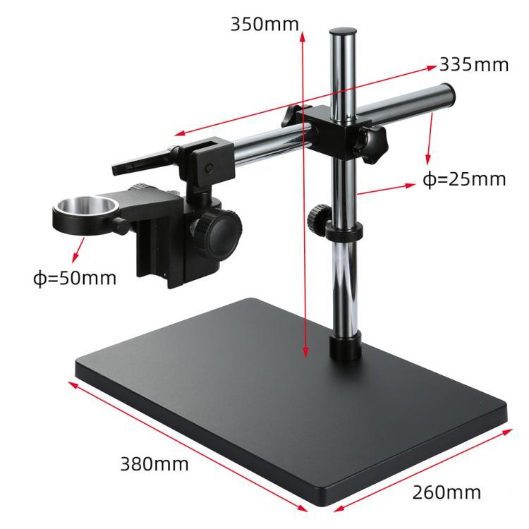 10 A電子ビデオ顕微鏡万方向カメラレンズリフト作業台360度回転ブラケット