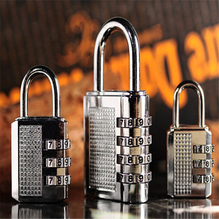 锁匙防撬小巧柜锁防盗大柜门锁房门旅行箱防盗个性锁小密码挂锁