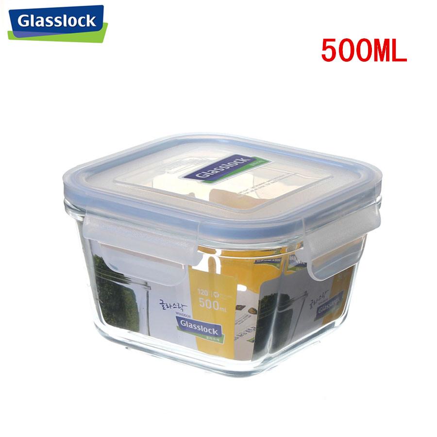 特价韩国进口三光云彩GLASSLOCK钢化玻璃保鲜盒 饭盒 保鲜淘宝优惠券