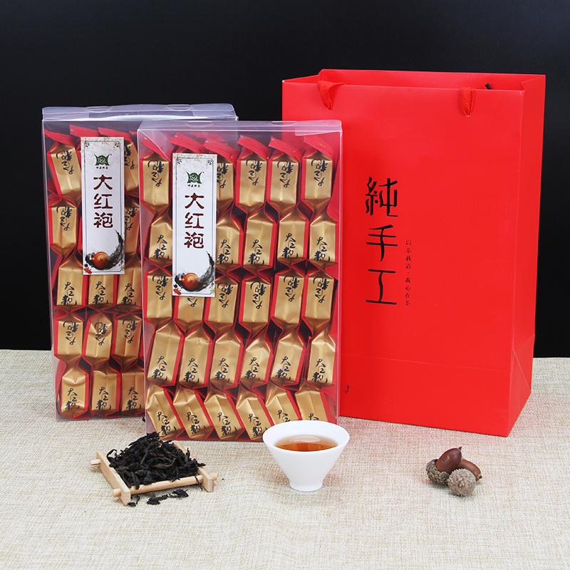 Dahongpao tea super authentic 500g small package black tea strong flavor Wuyishan rock tea
