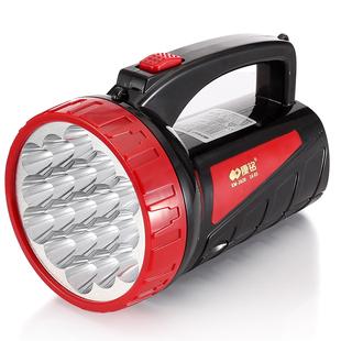 康铭led手电筒强光充电超亮多功能手提特种兵户外探照灯家用电筒