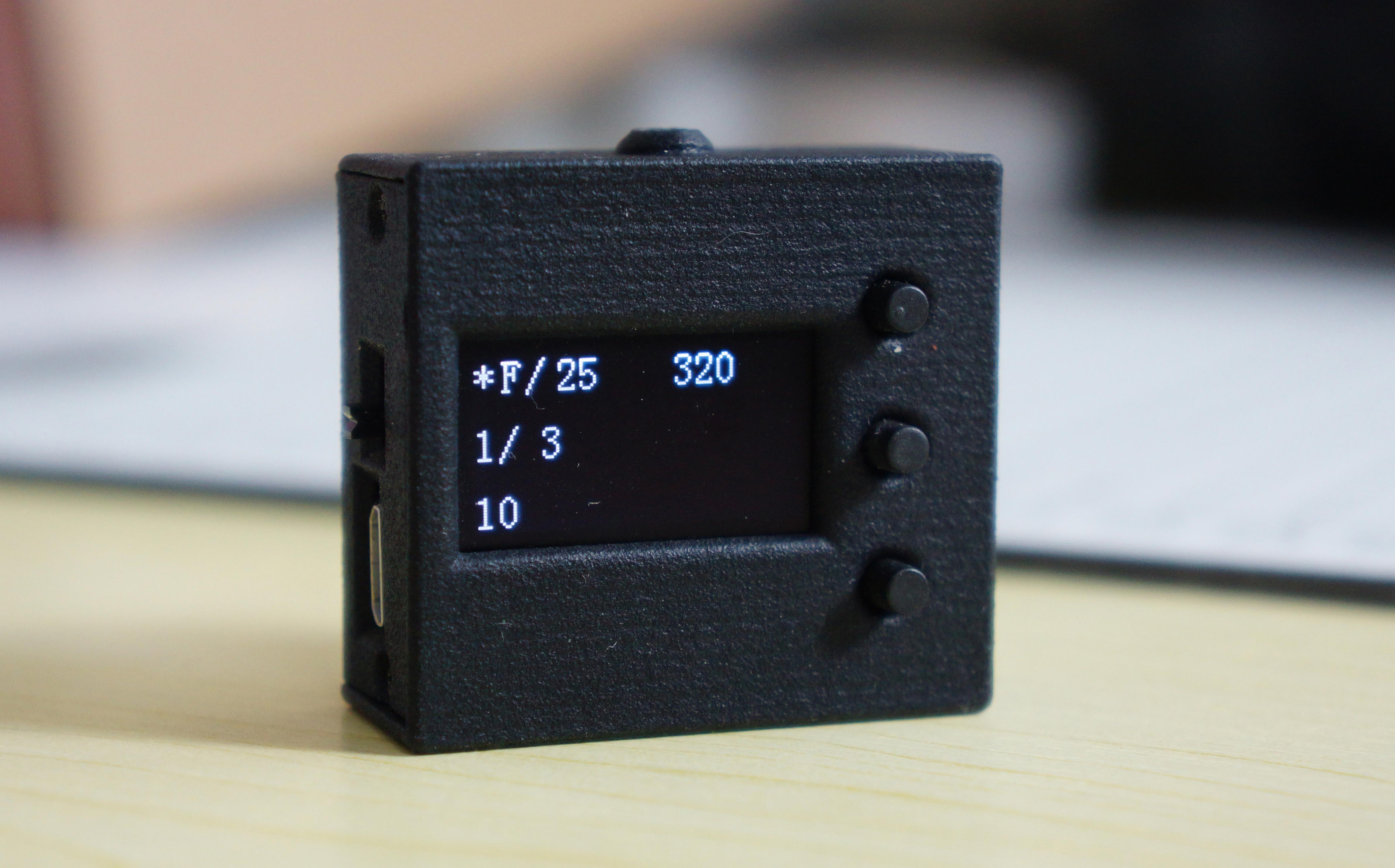 尼龙L-101 测光表 摄影 机顶反射评价测光 热靴 尼龙外壳