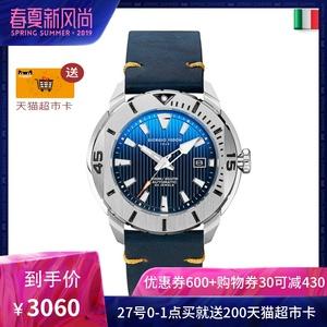 领500元券购买限量Giorgio Fedon1919乔治菲登原装进口手表男时尚潜水机械腕表