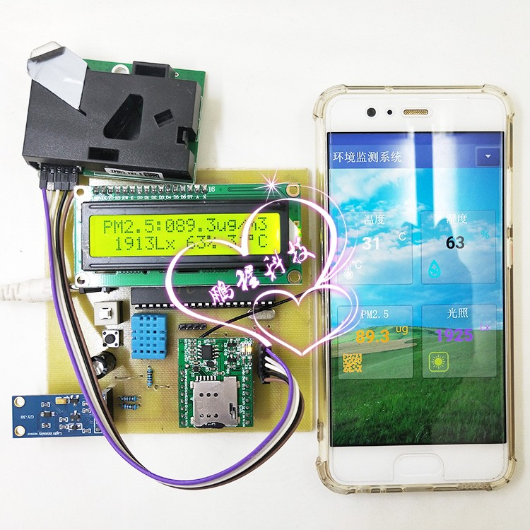 Single chip microcomputer design and GPRS electronic design of smart home environment monitoring system based on Android