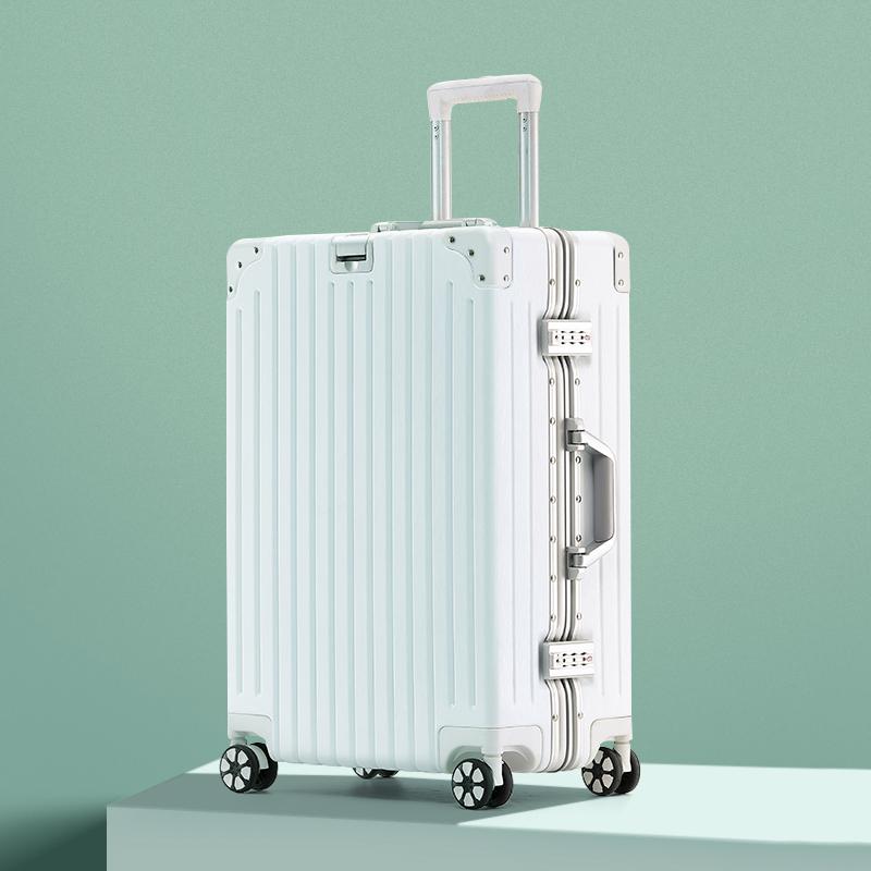 hmrattsh行李箱网红学生24寸纯色拉杆箱26小清新防刮旅行箱万向轮