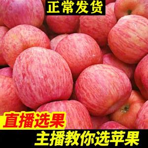 烟台红富士苹果水果脆甜条纹新鲜当季10一级整箱斤山东栖霞糖心萍