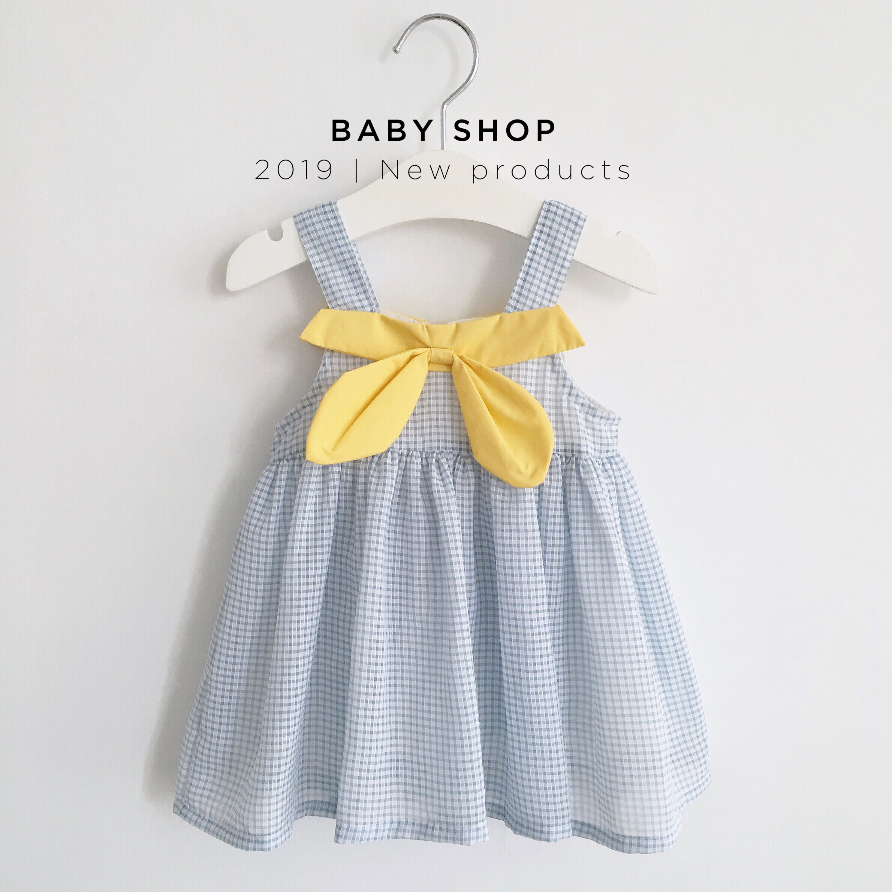 韩国韩版新款夏装女童蝴蝶结洋气