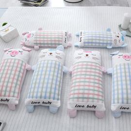 宝宝枕头婴儿夏凉0-1-2岁透气吸汗枕套小孩3-6岁幼儿园儿童荞麦枕
