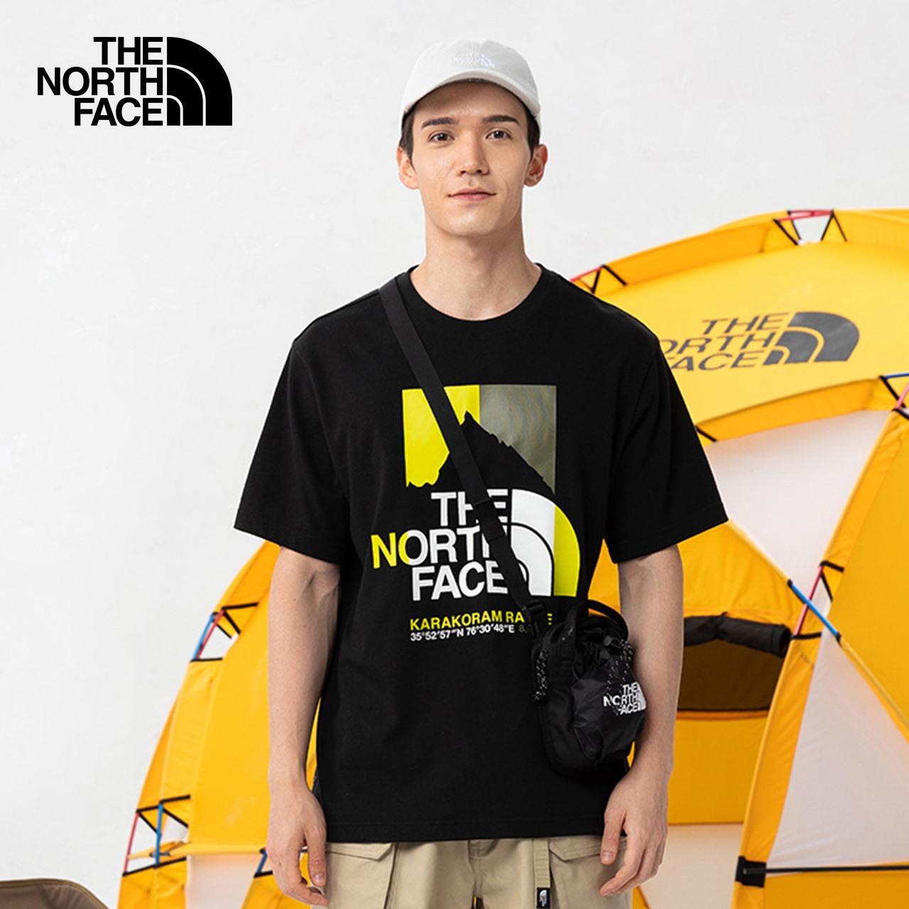 【山夏Tee】TheNorthFaceUE北面GRAPHIC TEE男印花短袖T恤|5B3F