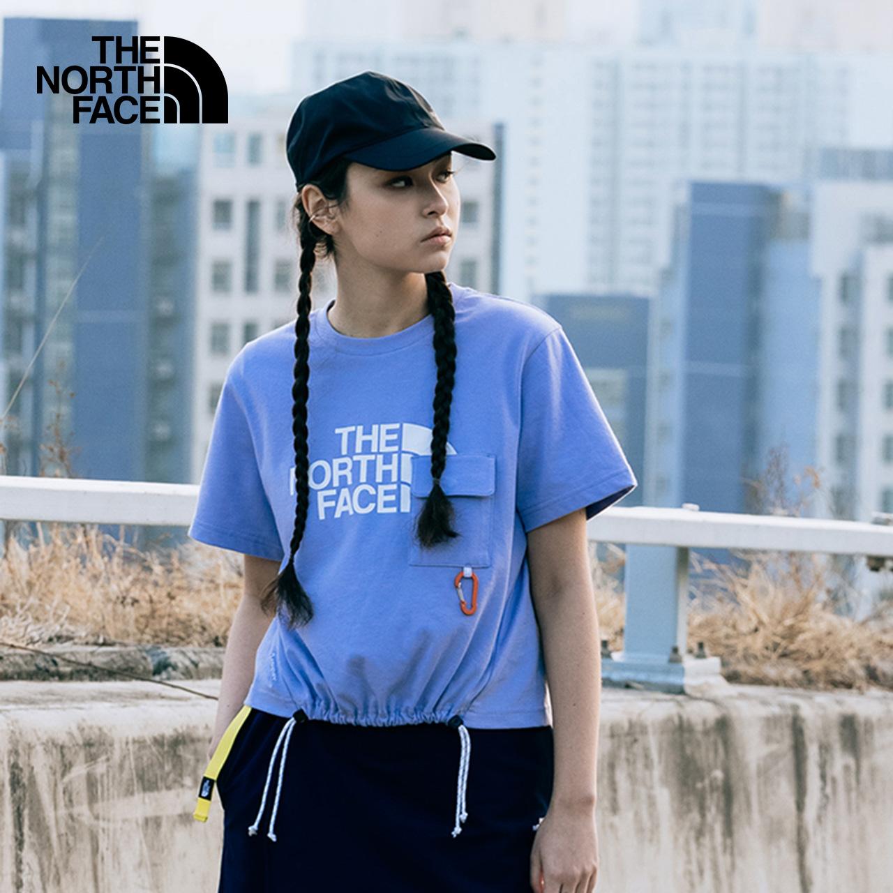 【山夏Tee】TheNorthFaceUE北面SS TEE女印花贴袋短袖T恤|5AX2