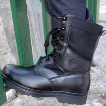 夏季透气超轻06伞兵飞行靴男07作战靴正品真皮军靴空降兵战术靴子