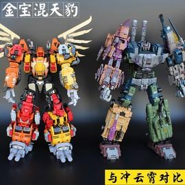 機器人祖國版玩具戰車變形金剛模型專區大變形玩具混天豹合體人大圖片