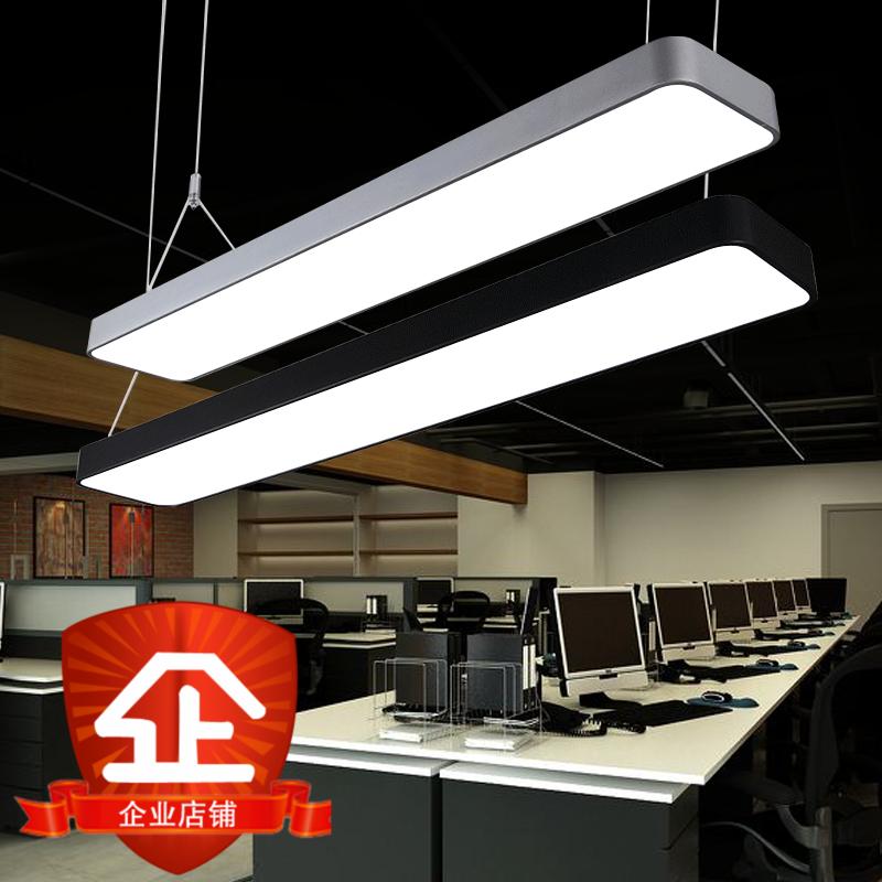 T 5 T 8 LEDオフィス照明吊りランプスタンドの吊り下げランプは、トップアルミニウムを吸い上げて、長いランプをつなぎ合わせます。
