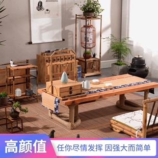 日式茶桌飘窗桌炕桌炕几榻榻米茶几套几小桌子矮茶台新品包邮为图片