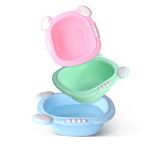 Baby Washbasin 2 3 Newborn supplies baby small basin plastic home pp cartoon childrens basin