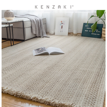 New kenzaki wool carpet living room northern Europe modern simple hand woven tea table Bedroom Sofa carpet