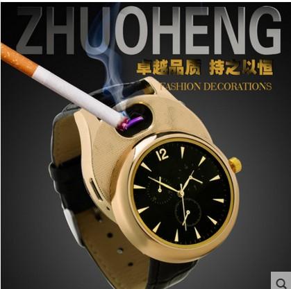 点烟的点烟的点烟器电子usb充电防风手表手表能手表可以能