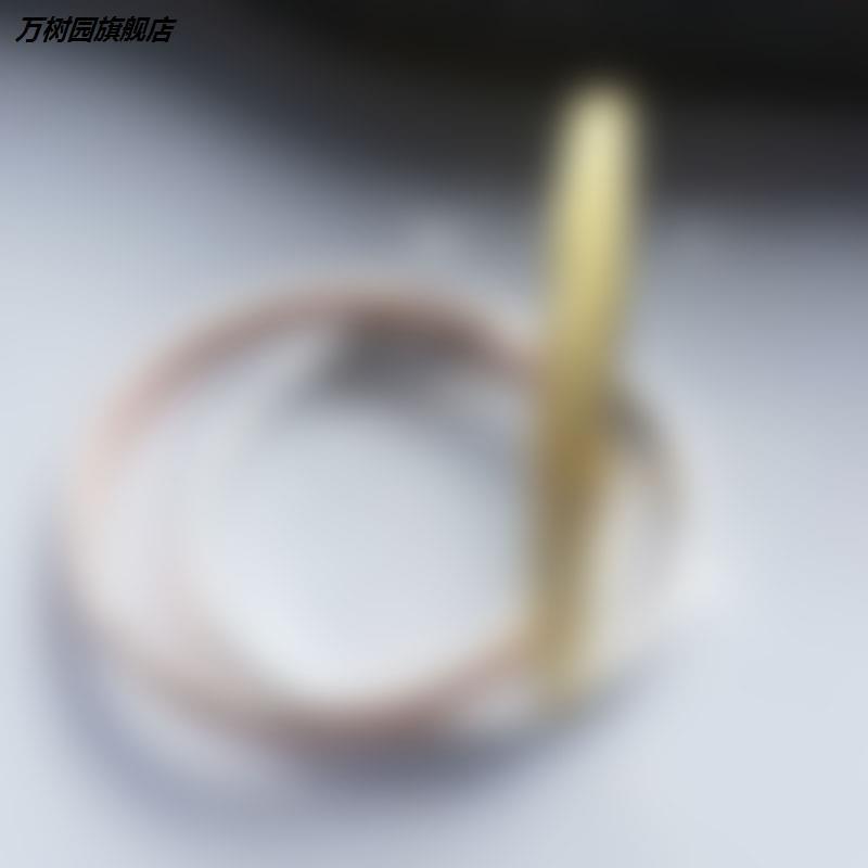 Fashion Korean popular Bracelet 18K Rose Gold lovers love bracelet female Bracelet eternal ring