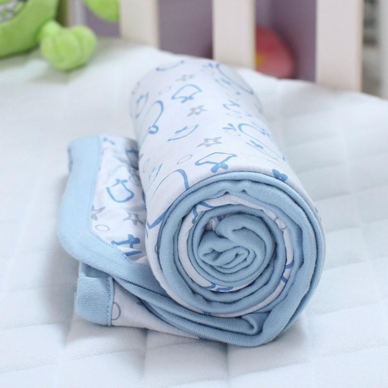 竹纤维儿童空调被小薄毯宝宝夏季盖毯儿童被子婴儿毯子