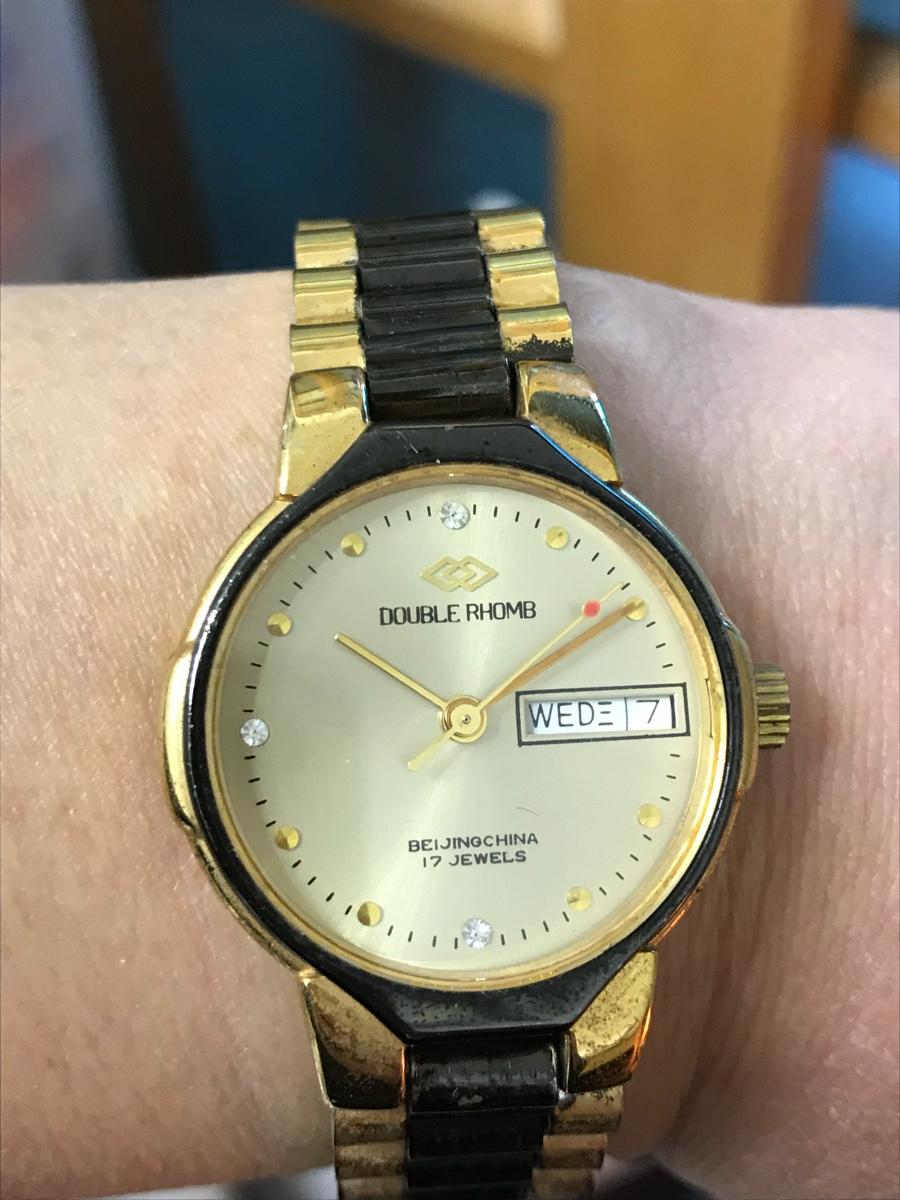 北京双菱牌手表手动上弦机械表复古董收藏品正库存原装全新男女士