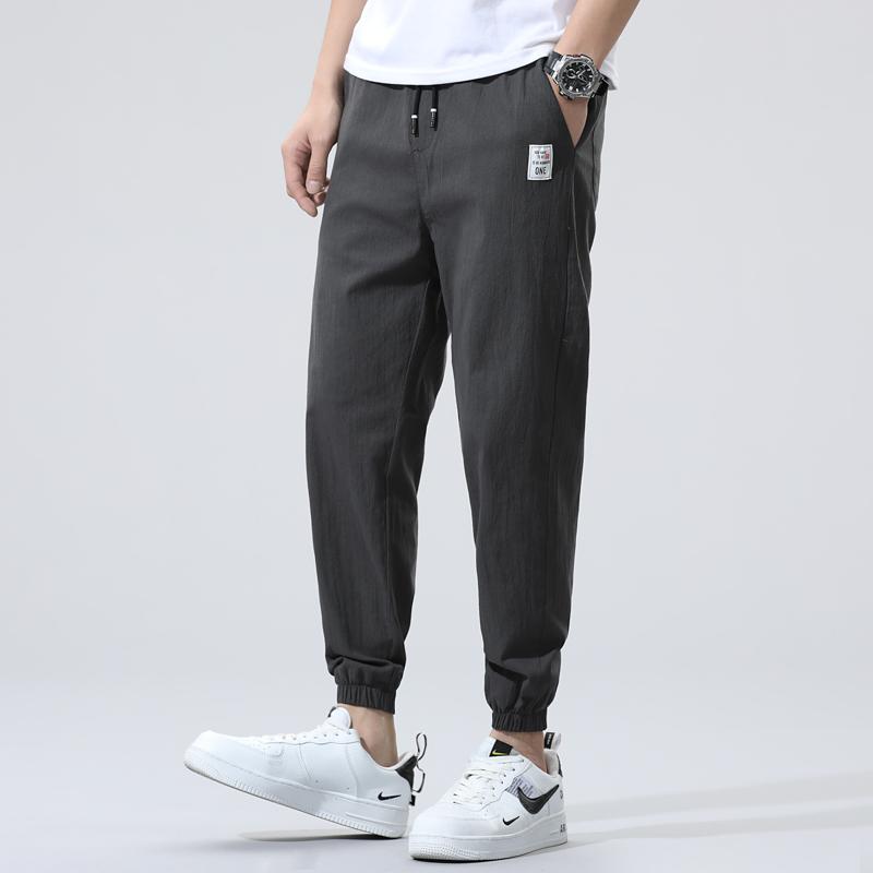 法德依身 爆款推荐 九分休闲裤男运动旅行束脚裤居家束口小脚裤。
