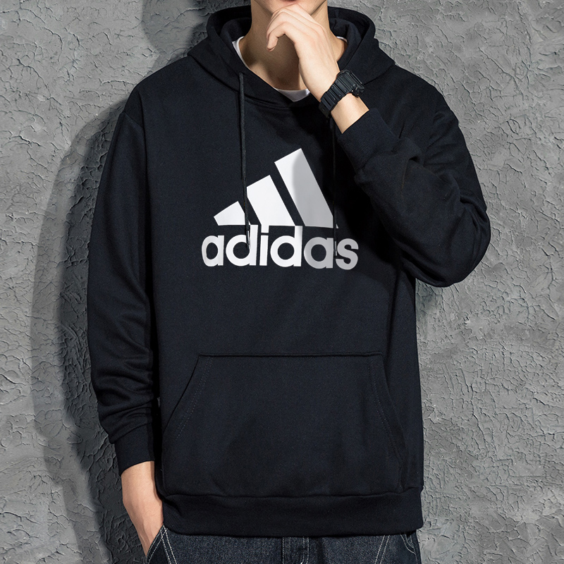 Adidas official website flagship sweater men's Hooded Coat NEW Authentic spring and autumn casual sports Pullover