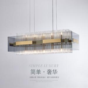餐厅2021年新款后现代简约轻奢吊灯