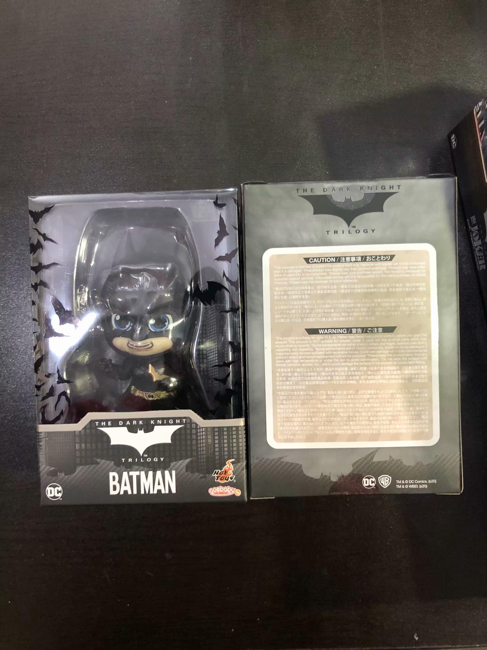HT/Hottoys COSB721 DC蝙蝠侠 黑暗骑士 cosbaby 现货
