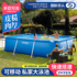 INTEX Children's Inflatable Swimming Pool Thicken Household Adult Large Family Outdoor Folding Paddling Pool Extra Large