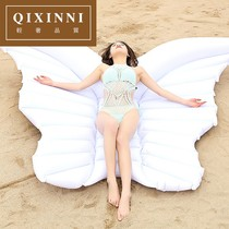Zihini angel wings inflatable floating bed butterfly floating angel wings Water Swimming Circle Seaside Beach YL1013