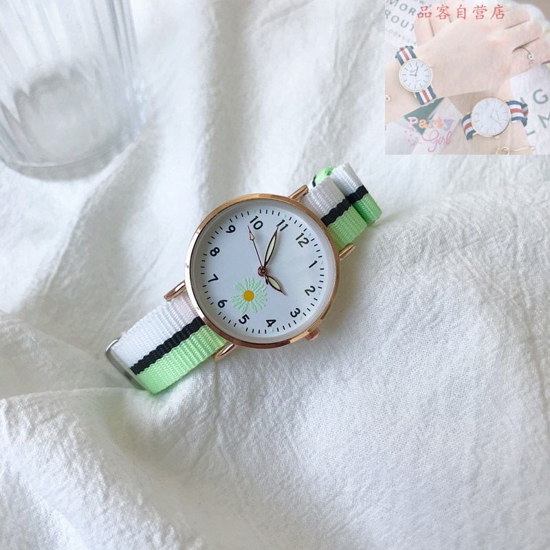Daisy canvas girl Watch Forest Department ins college style middle school students simple temperament leisure literature small fresh
