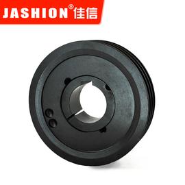 JASHION 欧标锥套式皮带轮SPZ67-03铸铁三角皮带盘1108锥套