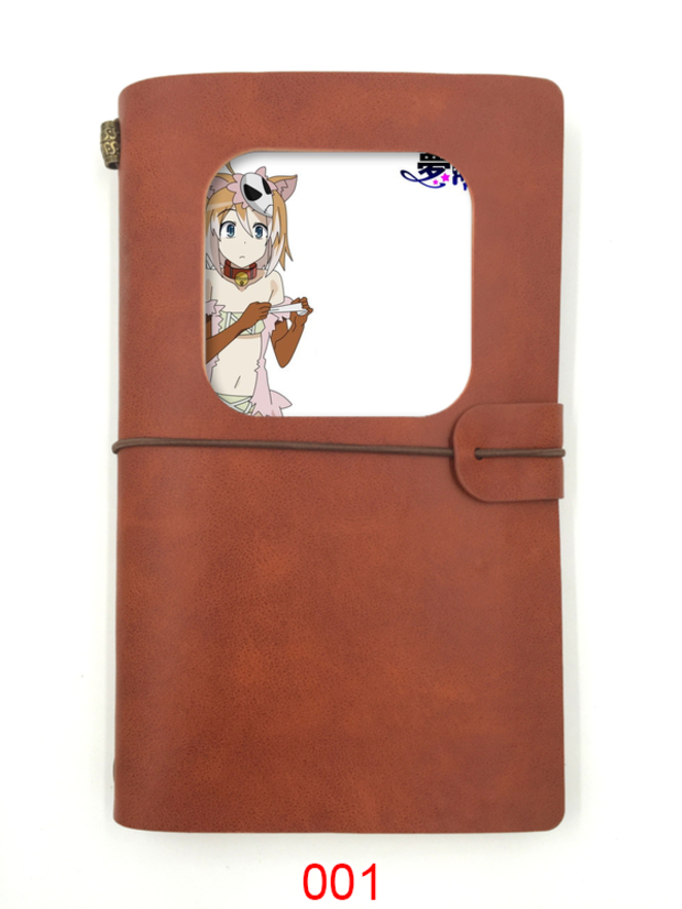 Creative dreameater Mary imitation cowhide notebook style antique hand thread bound DIY customized copy 7240