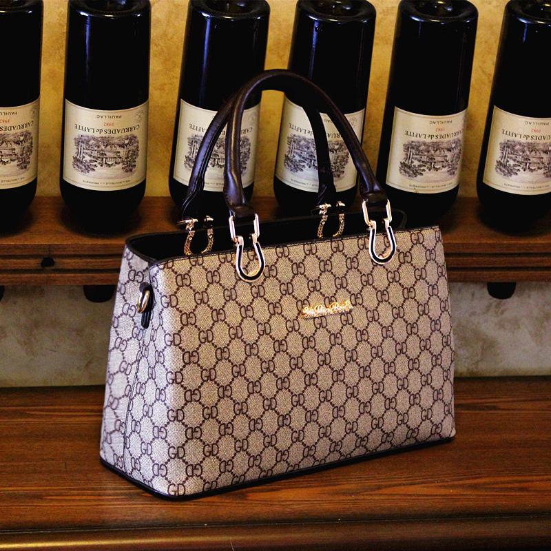 12月11日最新优惠欧版端庄大气中年女包简约气质大容量大包妈妈包包单肩斜挎手提包